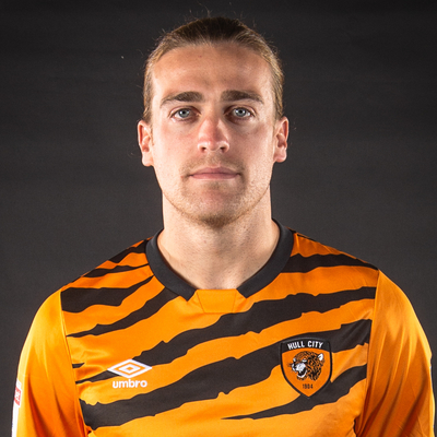 Tom Eaves pictured at the Hull City headshot session at the Tigers Trust Arena, Hull Picture by Matt Wilkinson/Focus Images Ltd 07814 960751 29/07/2019